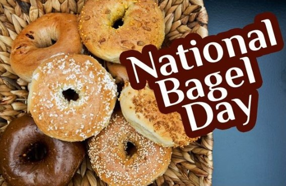 National Bagel Day 2020 – Wednesday, 15 January
