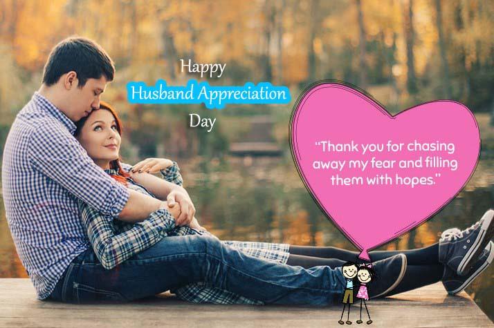Happy National Husband Appreciation Day 2021