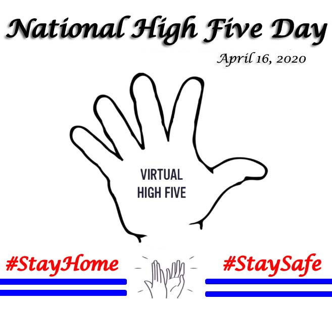 Happy National High Five Day 2020