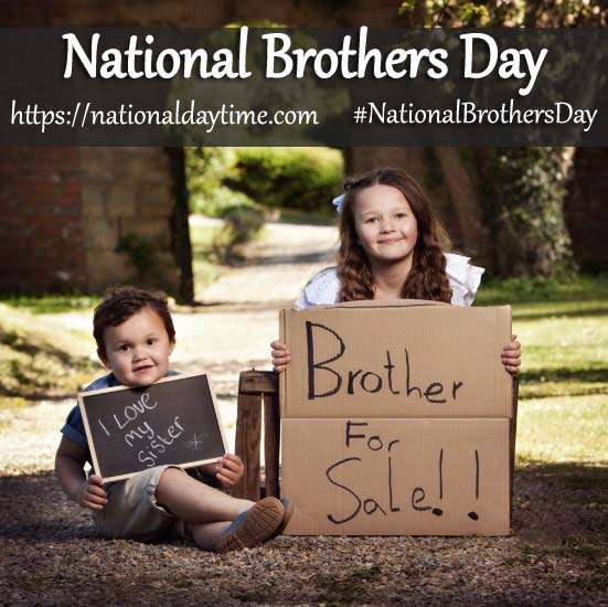 National Brothers Day 2020, Happy Brothers Day, Brothers Day 2020 Pics, Brother's Day Photos 2020, Happy National Brothers Day 2020