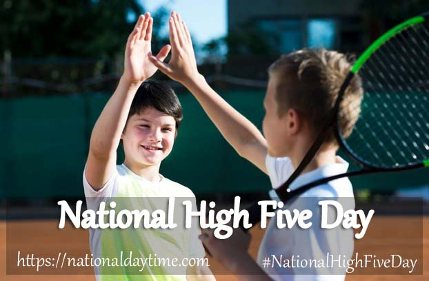 National High Five Day 2022