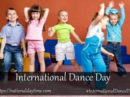 Happy International Dance Day 2020