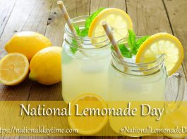 National Lemonade Day