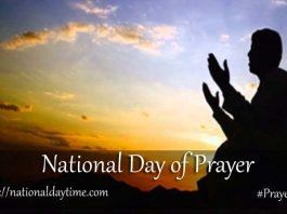 National Prayer Day 2020