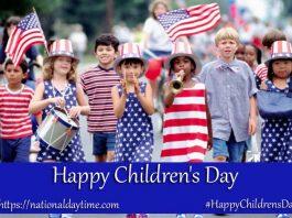 Happy Children's Day 2020 United States