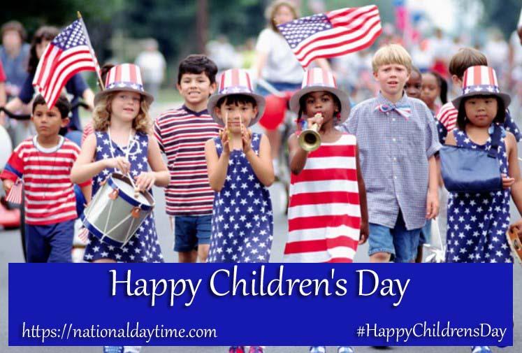 Happy Children's Day 2022