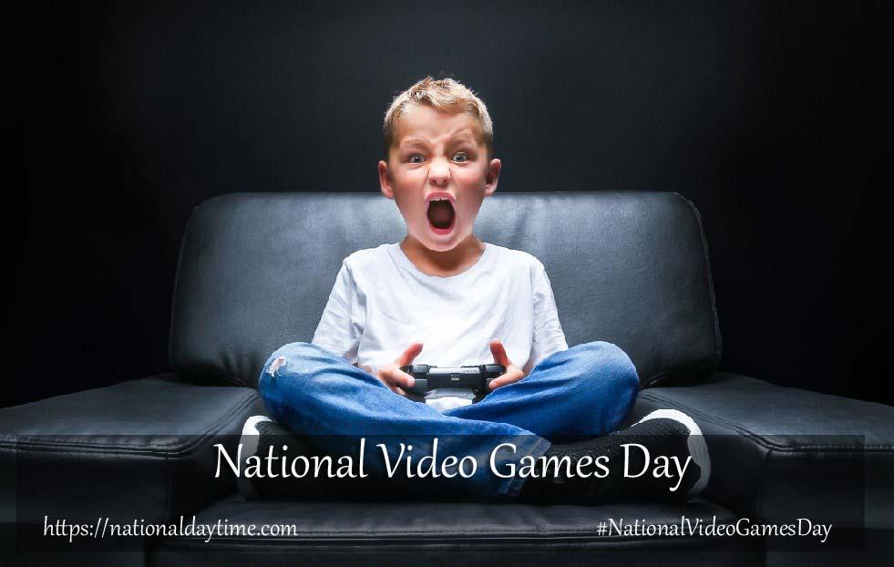 12 September National Video Games Day