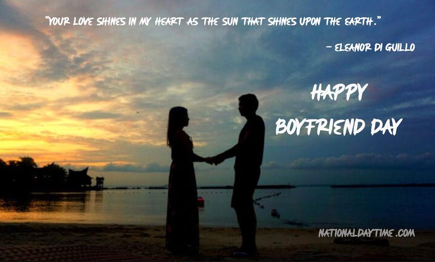 National Boyfriend Day Quotes 2021