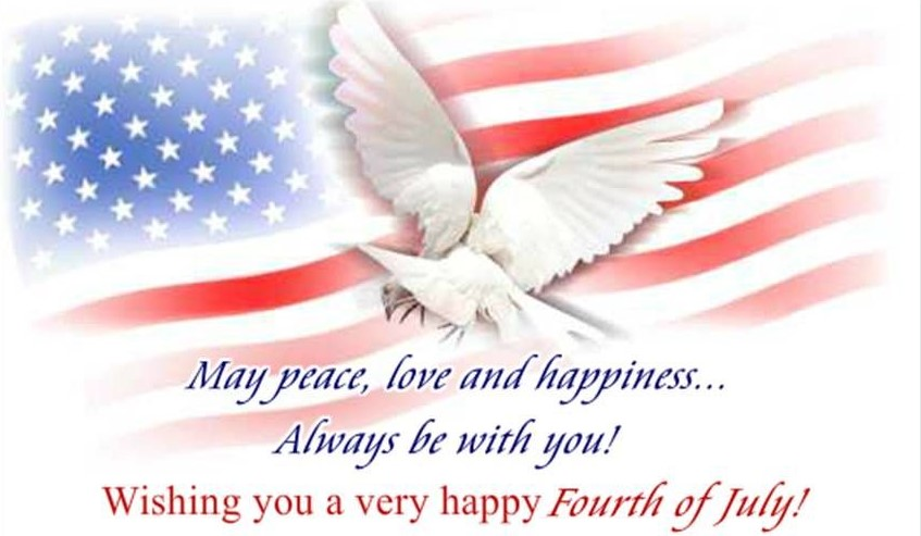 Fourth of July Wishes Images
