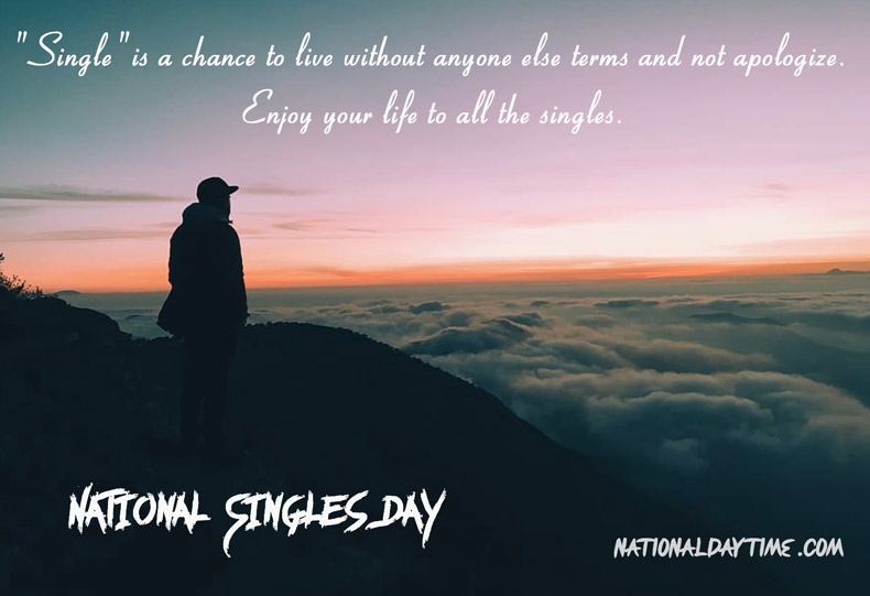 National Singles Day 2021