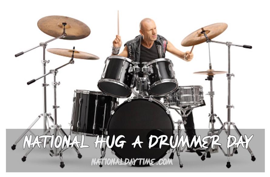 National Hug a Drummer Day 2021
